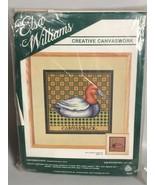 Canvasback Duck Needlepoint Kit Elsa Williams hunting lodge decor open c... - $35.37