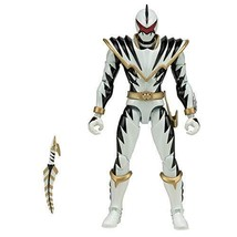 "Bandai Power Rangers Dino Thunder White Ranger 6.5"" Legacy Action Figure - $27.67"