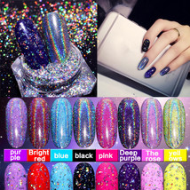 BAHYHAQ -  Powder Nail Art Mermaid Pigment Dust Neon Symphony Discoloration - $2.40