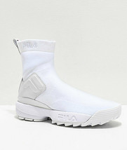 NEW FILA Disruptor Stretch White Shoes Womens Sneakers - $126.56