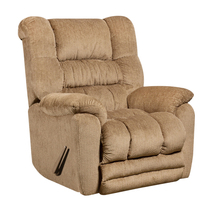 Contemporary Temptation Fawn Microfiber Rocker Recliner [AM-9560-6450-GG] - $410.52
