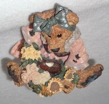Boyd Bearstone Resin Bears Justina The Message Bearer Figurine #2273 27E NEW image 6