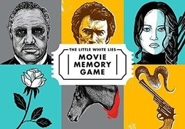 The Little White Lies Movie Memory Game [Game] [Sep 19, 2017] Little Whi... - $16.50
