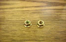 Mcculloch Mini Mac 300 chainsaw chain saw bar nuts 120029 set of 2 nuts - $5.99