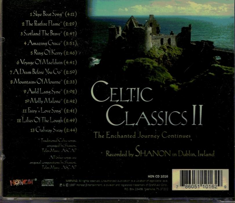 CD Celtic Classics II