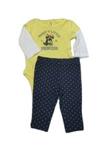 Carters Newborn or 3 Months 2 Piece Set Daddy's Little Princess Puppy Dog - $10.95