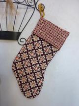 New Vera Bradley (Handmade Craft) Christmas Stocking in Medallion Pattern - $12.00