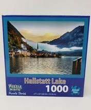 Puzzle Mate 1000 Pc Jigsaw Puzzle Hallstatt Lake - New - $24.99