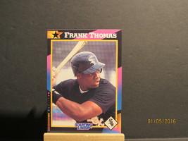 1992 Kenner Starting Lineup Cards #34 Frank Thomas - $7.91