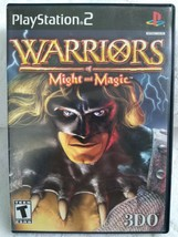 PS2 Warriors of Might & Magic 3DO disc instruction booklet used Play Sta... - $11.88