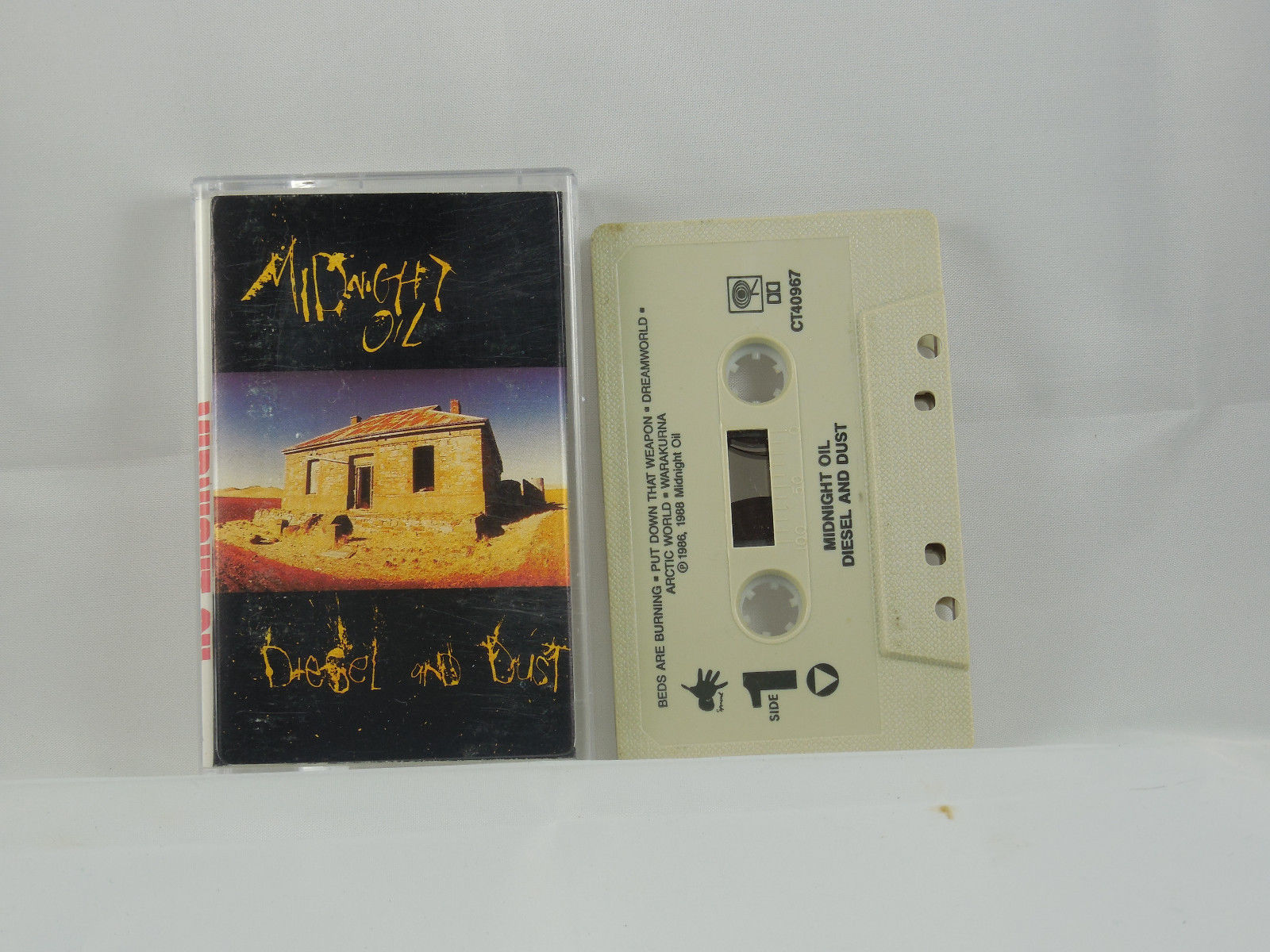 Diesel And Dust by Midnight Oil (Oct-1990, Columbia)
