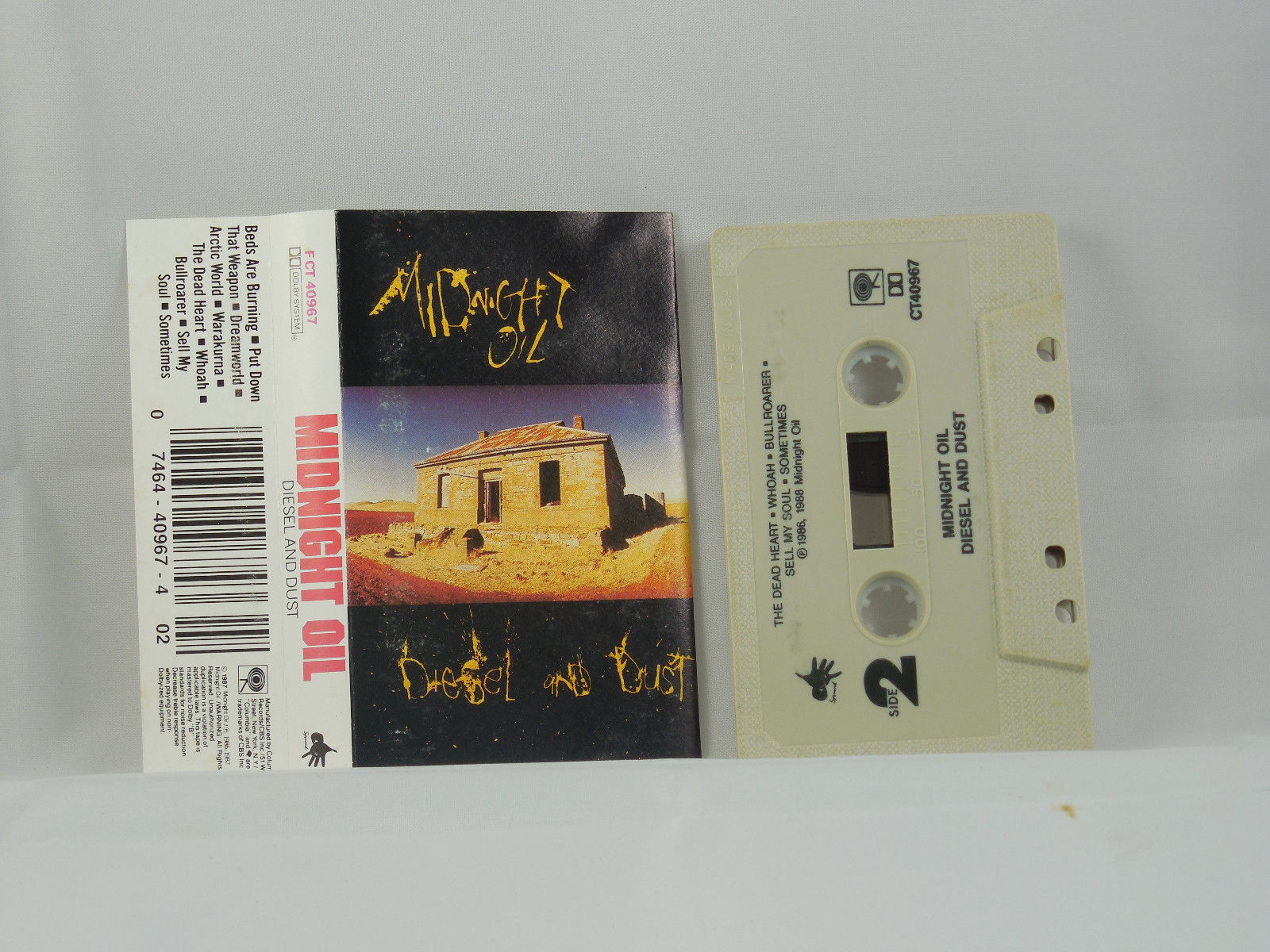 Diesel And Dust by Midnight Oil (Oct-1990, Columbia) image 3