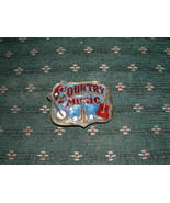 "THE GREAT AMERICAN BUCKLE "" COUNTRY MUSIC"" W/ SERIAL NO - $25.00"