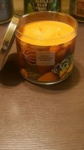 Bath And Body Works 3-WICK Candle 14.5 Oz Sweet Cinnamon Pumpkin!! New - $23.40