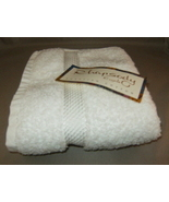 Rhapsody Royale Hand Towel in White - $13.50