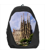 backpack bookbag sagrada familia barcelona souvenir - $41.00
