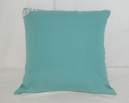 Split P 2806053CVR Pillow Plus Turquoise Margaux Geo Embroidered Cover 16 In image 2