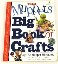 The Muppets Big Book of Crafts By the Muppet Workshop Paperback Book Kids - $16.71