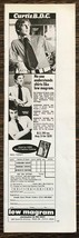 1972 Lew Magram Shirtmaker to the Stars 7th Ave NYC Print Ad Business Me... - $10.95