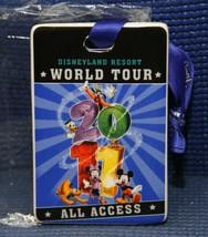 Disneyland Resort WORLD TOUR All Access Ticket Porcelain Ornament  2011 - $9.75