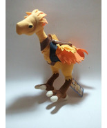 "Final Fantasy XI 11 RARE ""Chocobo with Saddle"" 2005 UFO Catcher / Plush ... - $39.88"