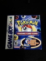 POKEMON TRADING CARD GAME Nintendo GameBoy Color - BOX AND CARTRIDGE ONLY - $19.99
