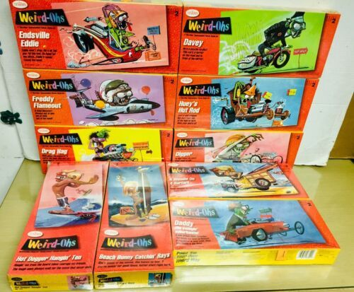 1994 Testors Weird-Ohs lot of 10 diff Model Kits -all NEW! MISB image 1