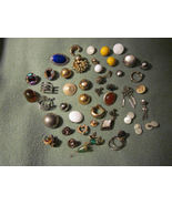 Vintage broken jewelry for crafts rhinestones - $20.00