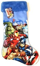 "Marvel Avengers 18"" Christmas Stocking Iron Man Hulk Thor Captain America w - $16.99"