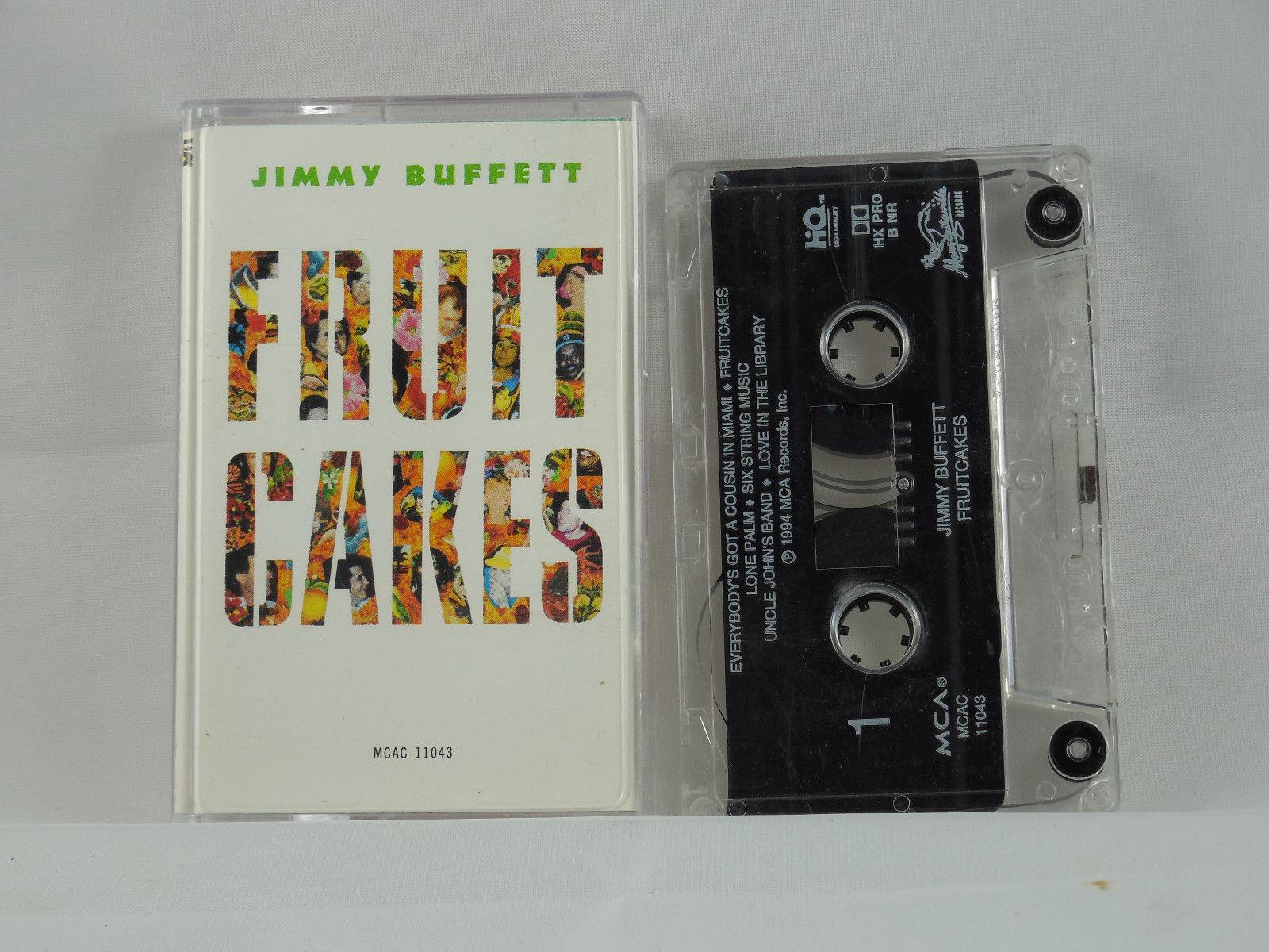 JIMMY BUFFETT FRUITCAKES CASSETTE 1982