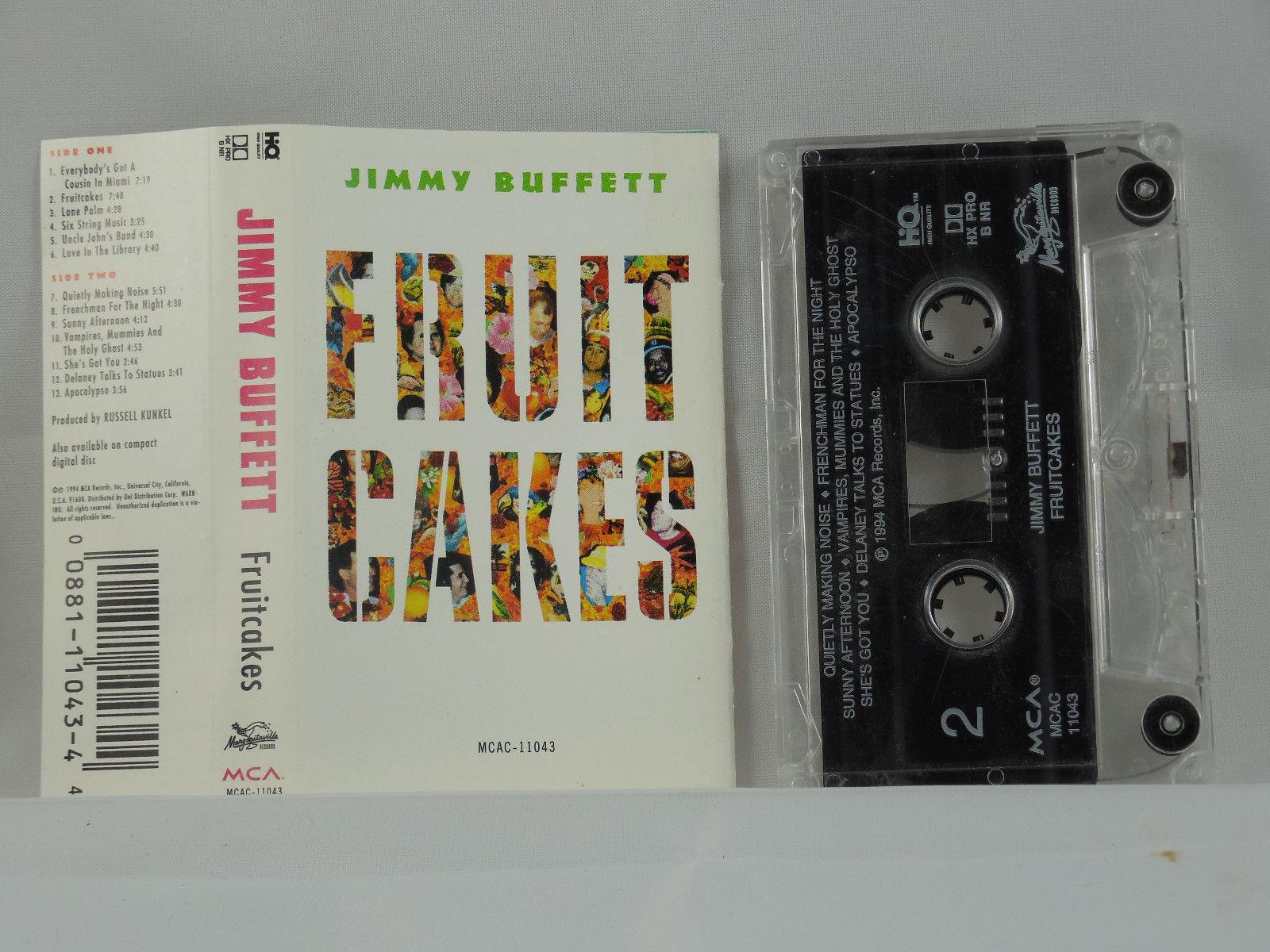 JIMMY BUFFETT FRUITCAKES CASSETTE 1982 image 3