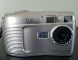 Hp Photo Smart 320 2.1 Mp Digital Camera - Silver *GOOD/TESTED* Free Shipping! - $14.84