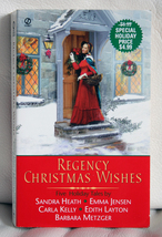 Regency Christmas Wishes by Sandra Heath, et al - $1.75