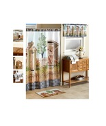 Country His & Hers Outhouse Bathroom Collection Rug Shower Curtain or Ha... - $17.98+
