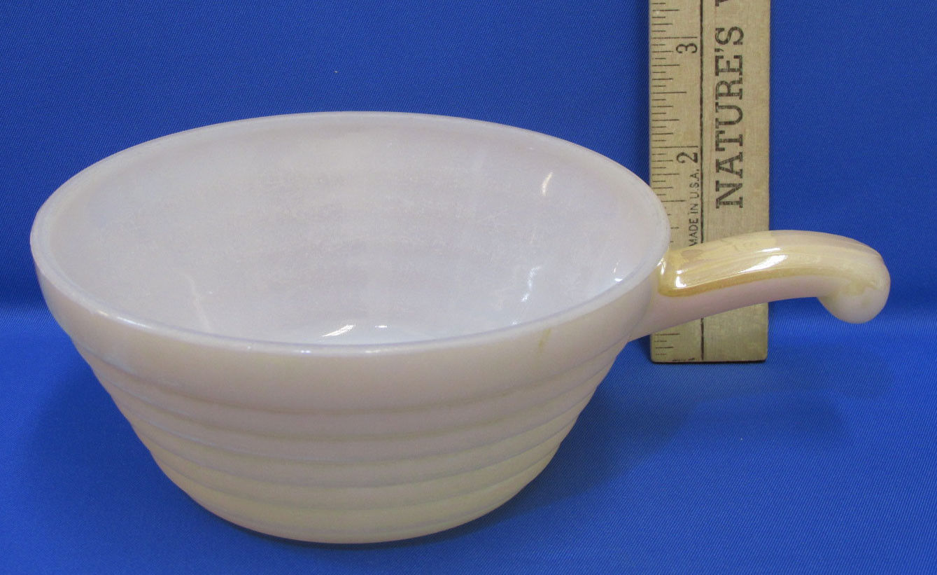 Vintage Fire King Oven Ware Soup Bowl With and 23 similar items
