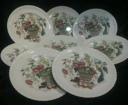 "Bird Of Paradise Saucer 6 1/4"" set of 8 Johnson Brothers England China - $49.49"
