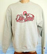 VTG Ohio State Buckeyes Gray Sweatshirt EUC Mens XL Embossed LN Pro Play... - $39.50