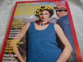 McCall's Needlework & Crafts June 1987 Magazine - $5.00