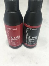 Matrix Total Results So Long Damage Shampoo & Conditioner 1.7oz Travel S... - $7.90