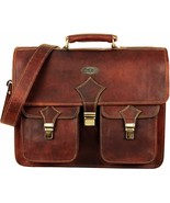 Handmade World Vintage Leather Messenger Bag For Men &  Women Christmas ... - $63.29