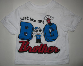 "CHILDREN'S PLACE ""JUST LIKE MY BIG BROTHER"" T-SHIRT INFANT BABY BOYS 6/9 MO - $4.94"