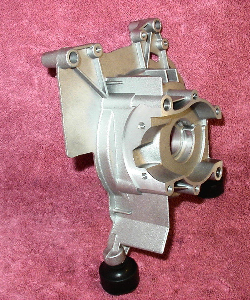 CHICAGO ELECTRIC  800W GENERATOR PARTS - CRANKCASE HOUSING FLYWHEEL SIDE    H1-4 image 5