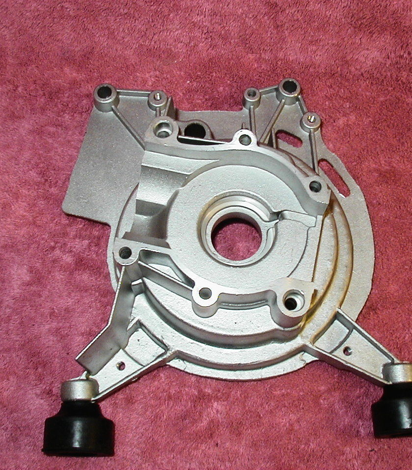 CHICAGO ELECTRIC  800W GENERATOR PARTS - CRANKCASE HOUSING FLYWHEEL SIDE    H1-4 image 6