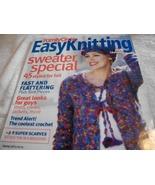 Family Circle Easy Knitting Plus Crochet Fall 2003 Magazine - $5.00