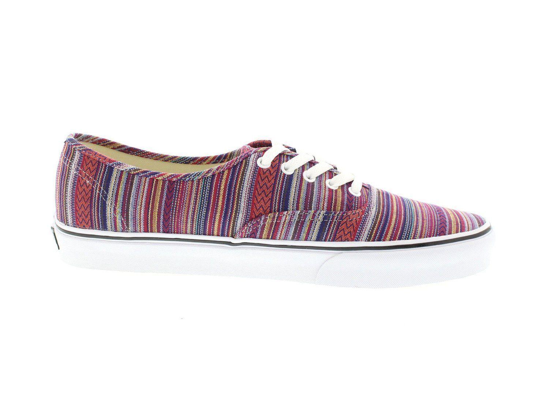 4eceaed433 Vans AUTHENTIC Guate Weave Black Multi Skate Shoes mens Size 11 womens 12.5  sk8