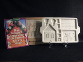 LONGABERGER POTTERY GINGERBREAD COUNTRY COTTAGE MOLD - $12.55