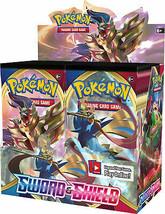 Pokemon Sword & Shield 12 Booster Pack Lot 1/3 Booster Box Pokemon TCG B... - $39.99