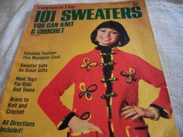 Woman's Day 101 Sweaters You Can Knit & Crochet Number 9 Magazine - $5.00