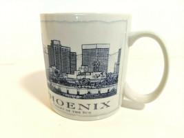 Starbucks Phoenix Valley of the Sun Large White Coffee Tea Mug Cup 2006 ... - $14.79