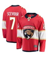 Men's Colton Sceviour #7 Player Jersey Sewn on Florida Panthers 2018 Red... - $75.19